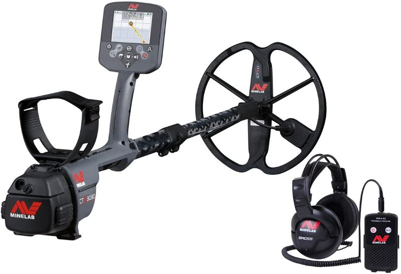 Minelab CTX 3030 Metal Detector with GPS