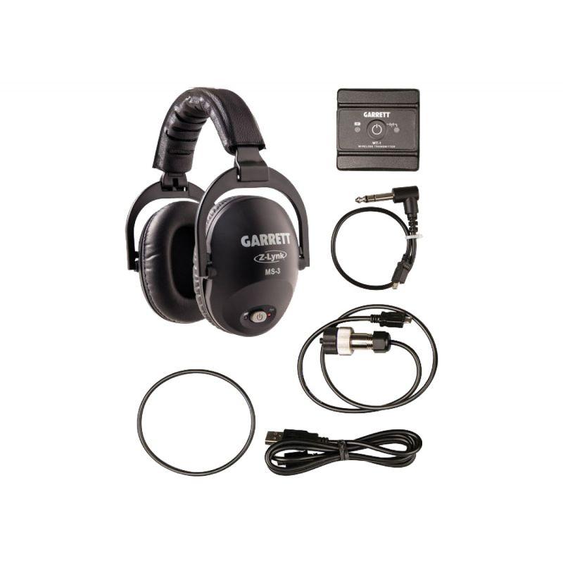 Garrett MS-3 Wireless Z Lynk Headphone Kit