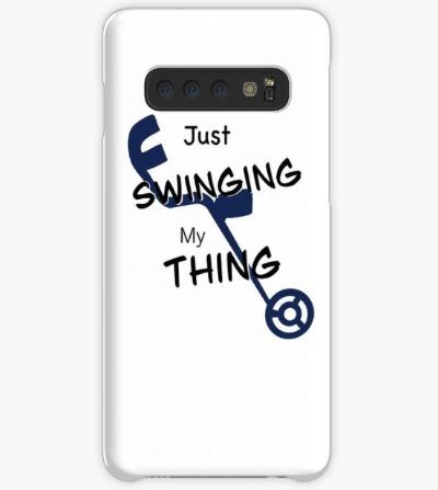 Just Swinging My Thing Phone Case