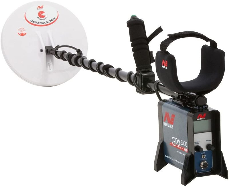Minelab GPX 5000 Pulse Induction Metal Detector