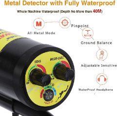 Nalanda waterproof metal detector