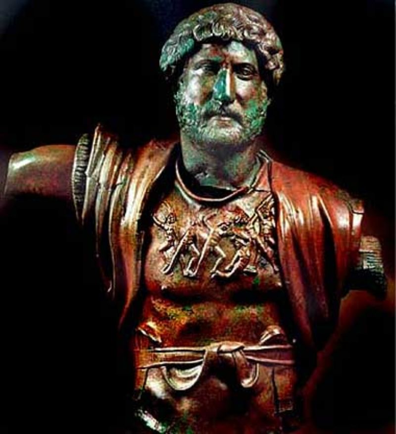 The Bronze Statue of Hadrian