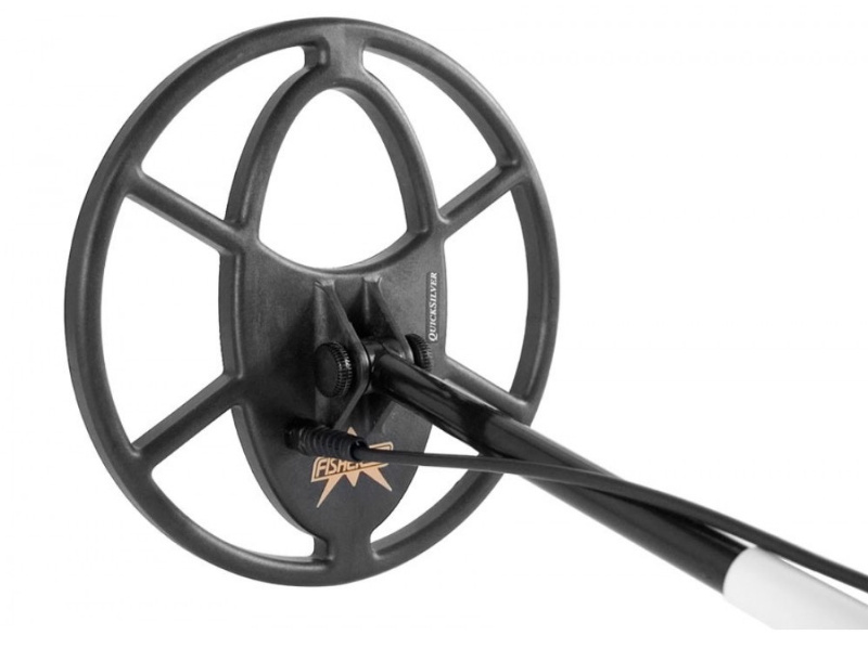 10 inch coil on Fisher CZ-21 metal detector